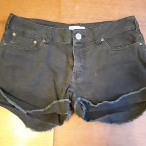5 for 25 - Black Jean Shorts